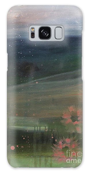 Galaxy Case featuring the painting Faded Days Gone By by Robin Maria Pedrero