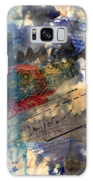 Faded Fantasies 4 Galaxy Case