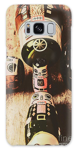 Weathered Galaxy Case - Faded Old Toys From A Vintage Past by Jorgo Photography - Wall Art Gallery