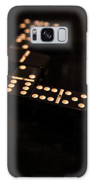 Fading Dominos Galaxy Case