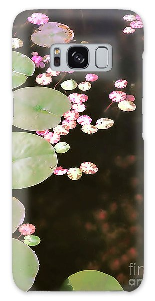 Fading Lily Pads Galaxy Case