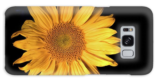 Fading Sunflower Galaxy Case