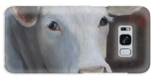 Fair Lady Cow Painting Galaxy Case