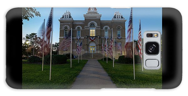 Fairbury Nebraska Avenue Of Flags - September 11 2016 Galaxy Case
