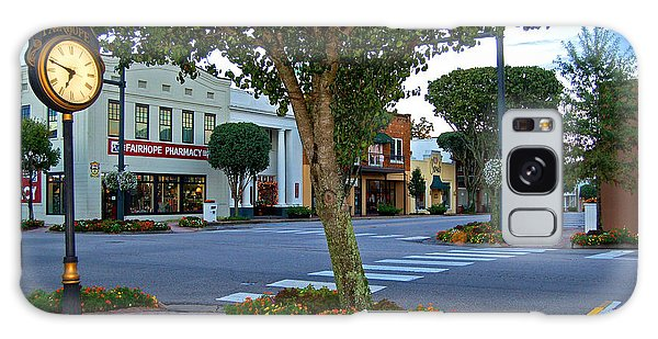 Fairhope Ave With Clock Galaxy Case