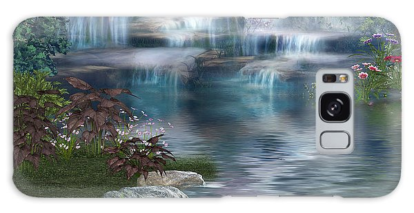 Fairies Hidden Lake Galaxy Case by Digital Art Cafe