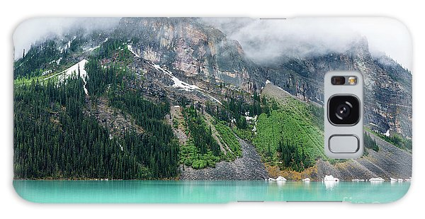 Moraine Lake Galaxy Case - Fairview Mountain Above Lake Louise by Mike Reid