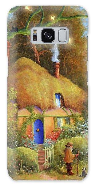 Fairy Cottage Galaxy Case