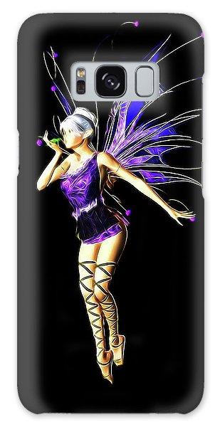 Folk Art Galaxy Case - Fairy, Digital Art By Mb by Mary Bassett