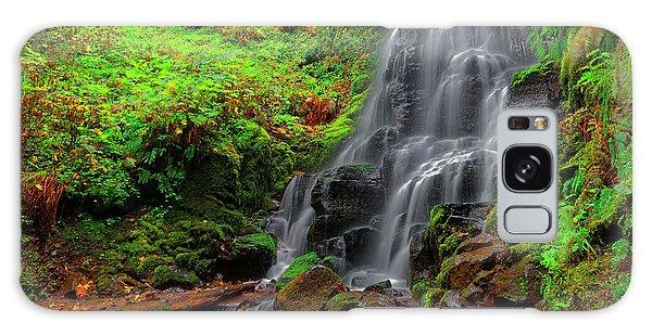 Fairy Falls Oregon Galaxy Case by Jonathan Davison