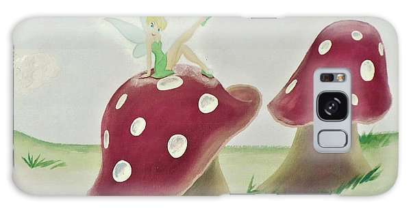 Fairy On Mushroom Trees Galaxy Case