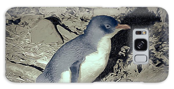 Wilsons Promontory Galaxy Case - Fairy Penguin Tasmania by Teresa A and Preston S Cole Photography