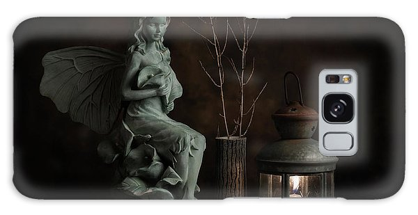 Fairy Galaxy Case - Fairy With Lilies by Tom Mc Nemar