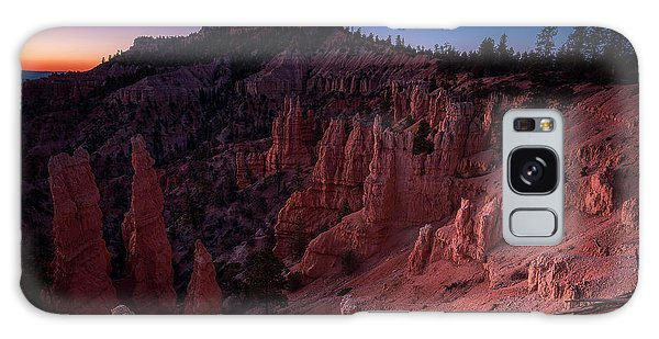 Galaxy Case featuring the photograph Fairyland Canyon by Edgars Erglis