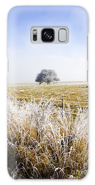 Galaxy Case featuring the photograph Fairytale Winter In Fingal by Jorgo Photography - Wall Art Gallery