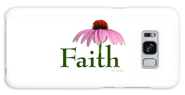 Faith Coneflower Shirt Galaxy Case