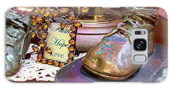 Faith Hope Love 2 Galaxy Case