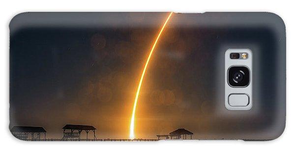 Falcon 9  Night Launch Galaxy Case