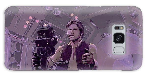 Falcon Gun Turret Galaxy Case by Kurt Ramschissel