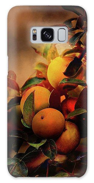 Fall Apples A Living Still Life Galaxy Case