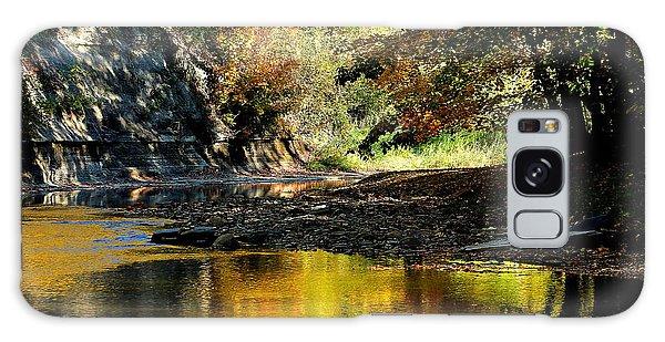 Fall At Big Creek Galaxy Case by Bruce Patrick Smith