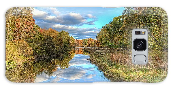 Fall At Brunswick Lake  Galaxy Case