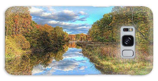 Fall At Brunswick Lake  Galaxy Case by Brent Durken