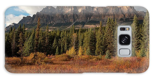 Fall At Castle Mountain Galaxy Case