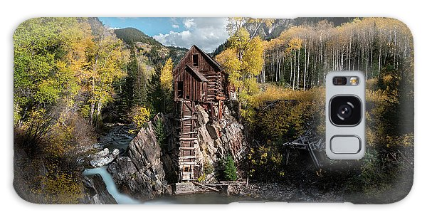 Fall At Crystal Mill Galaxy Case