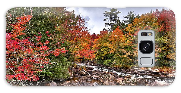 Galaxy Case featuring the photograph Fall At Indian Rapids by David Patterson