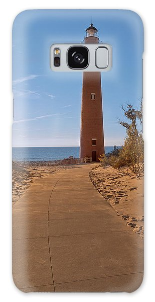 Fall At Little Point Sable Light Galaxy Case