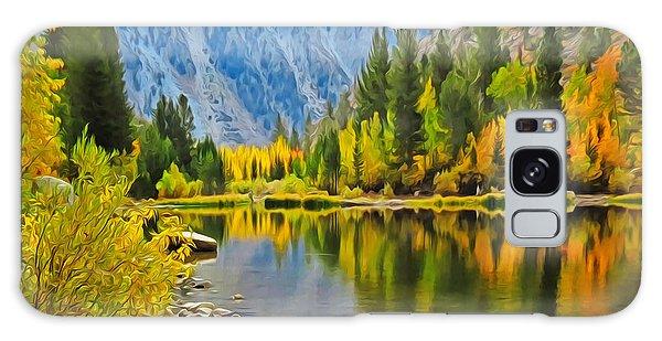 Fall At North Lake Galaxy Case
