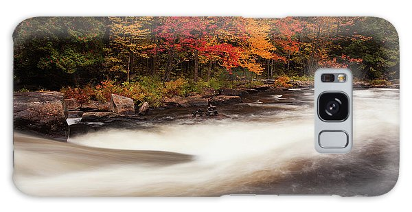 Fall At Oxtongue Rapids Galaxy Case
