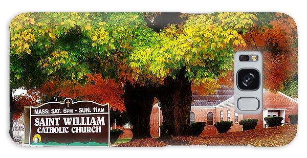 Fall At Saint William Catholic Church In Murphy Nc Galaxy Case