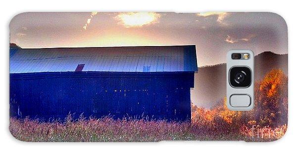 Fall Barn Galaxy Case by Janice Spivey