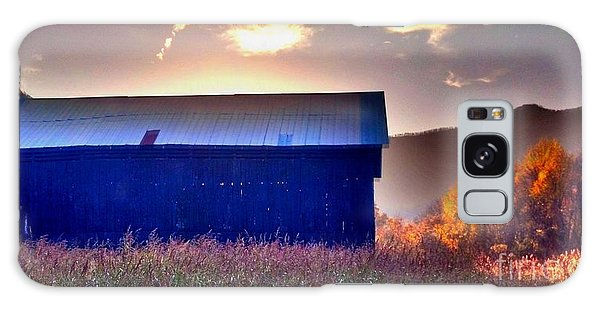 Fall Barn Galaxy Case