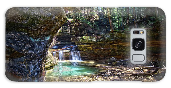 Fall Below Old Mans Cave Galaxy Case