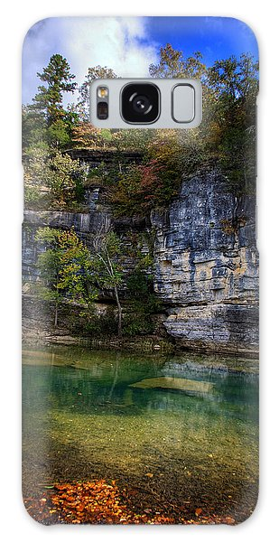 Fall Bluff At Ozark Campground Galaxy Case