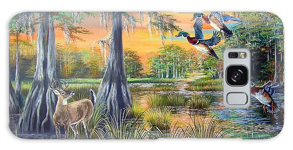White-tailed Deer Galaxy Case - Fall Bounty- Big Cypress Swamp  by Daniel Butler