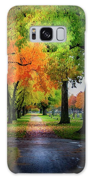 Fall Color Galaxy Case
