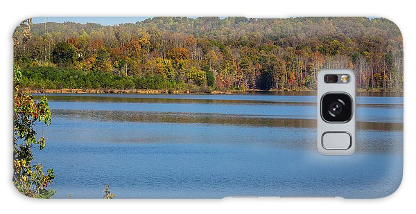 Fall Color At Lake Zwerner Galaxy Case