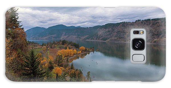 Fall Color At Ruthton Point In Hood River Oregon Galaxy Case