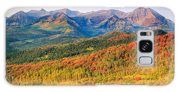 Fall Color On The East Slope Of Timpanogos. Galaxy Case