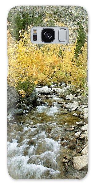Fall Colors And Rushing Stream - Eastern Sierra California Galaxy Case