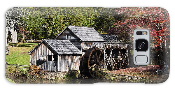 Fall Colors At Mabry Mill Blue Ridge Parkway Galaxy Case