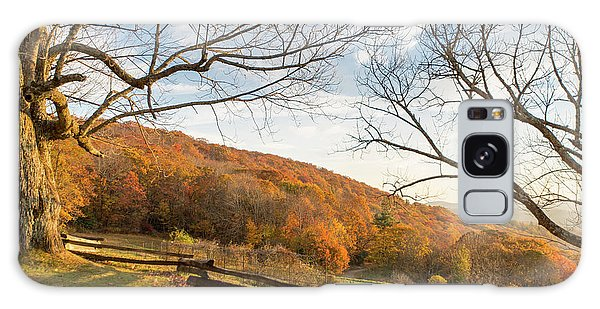 Fall Colors At The Moses Cone Estate Galaxy Case