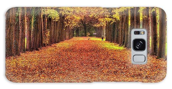 Fall Colors Avenue Galaxy Case