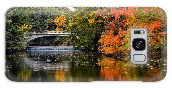 Fall Colors In New York State Galaxy Case by Don Mennig