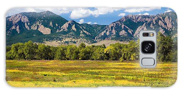 Fall Colors Of Boulder Colorado Galaxy Case