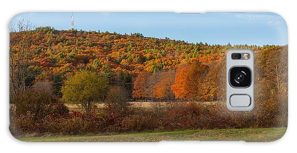 Fall Colors On Great Blue Hill Galaxy Case